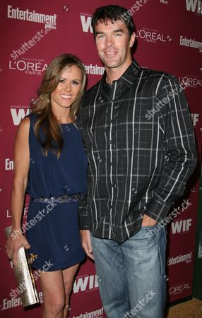 Stock Picture of Trista Rehn and Ryan Sutter