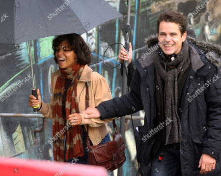 Halle Berry with director Tom Twyker