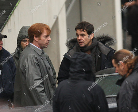 Editorial photo of 'Cloud Atlas' film set on location, Glasgow, Scotland, Britain - 17 Sep 2011
