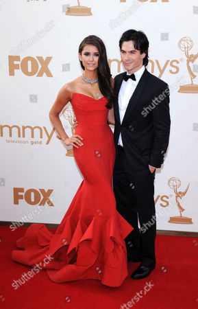 Editorial image of 63rd Annual Primetime Emmy Awards, Arrivals, Los Angeles, America - 18 Sep 2011