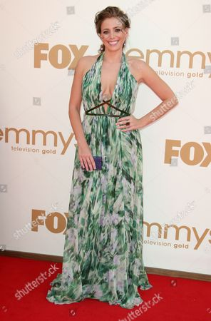 Editorial photo of 63rd Annual Primetime Emmy Awards, Arrivals, Los Angeles, America - 18 Sep 2011