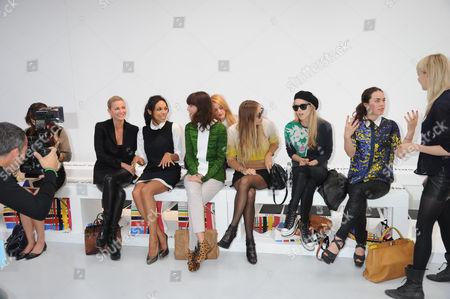 Rosario Dawson, Irina Lazareanu, Harvey Viera Newton, Mary Charteris, Tallulah Harlech