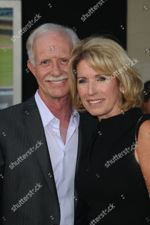 Captain Chesley B Sullenberger III and wife Lorrie Sullenberger