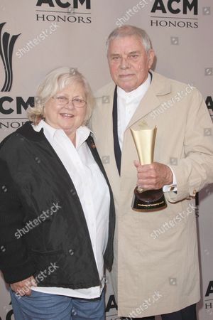 Tom T. Hall and wife Dixie