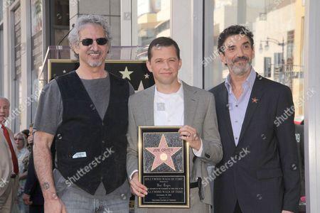 Stock Photo of Lee Aronsohn, Jon Cryer and Chuck Lorre