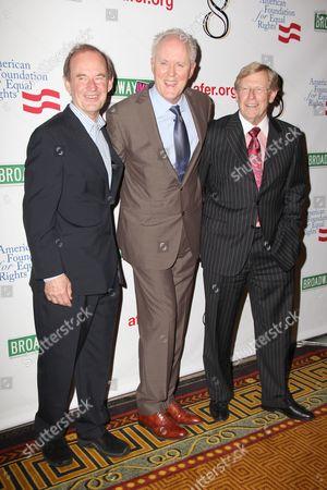 David Boies, John Lithgow, Theodore Olson