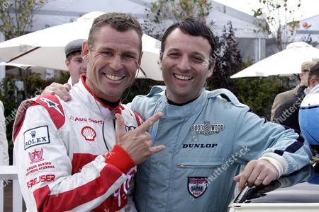 Tom Kristensen and Darren Turner