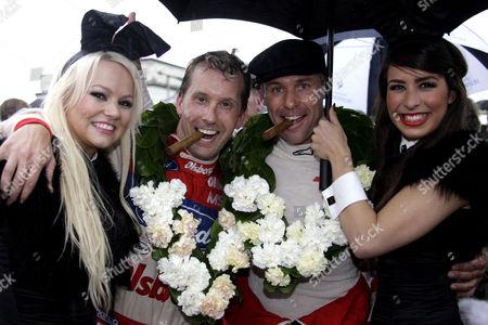 RAC TT Winners, Kenny Brack and Tom Kristensen