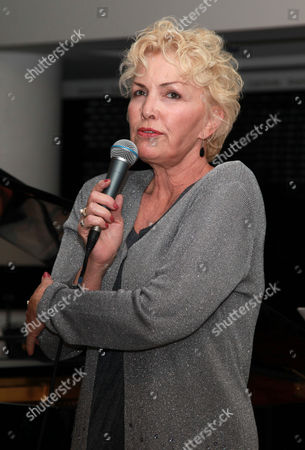 Stock Picture of Lezlie Anders sings on a special charity night for the victims of the Croydon riots, The Cabaret held at Fairfield Halls, Croydon, Britain