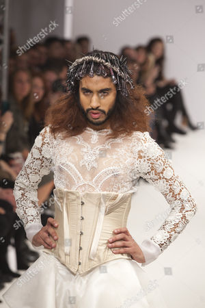 Editorial photo of Ziad Ghanem show, Spring Summer 2012, London Fashion Week, Britain - 19 Sep 2011