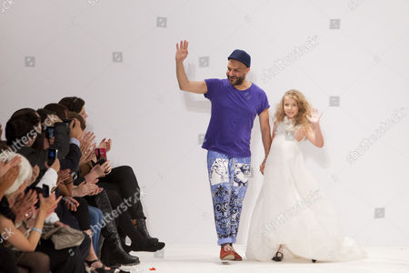 Stock Image of Ziad Ghanem on the catwalk