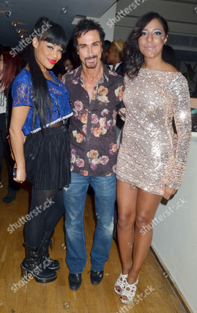 Stock Photo of Sarah-Jane Crawford, Stuart Phillips and Su-Elise Nash