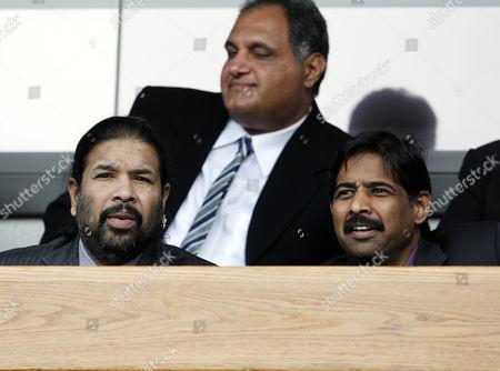 Blackburn Rovers owners and directors of Venky's Balaji Rao and Venkatesh Rao