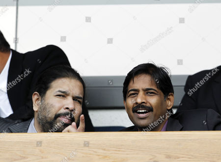 Stock Picture of Blackburn Rovers owners and directors of Venky's Balaji Rao and Venkatesh Rao
