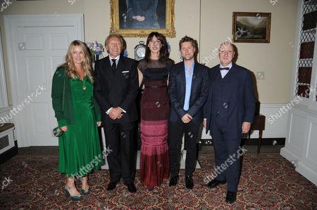 Emma Hill, Harold Tillman, Samantha Cameron and Stephen Jones