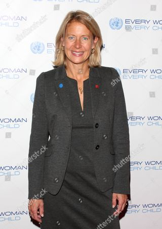 Editorial picture of Every Woman, Every Child Millennium Development Goals Reception, New York, America - 20 Sep 2011