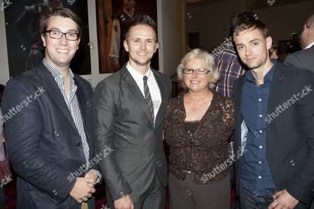Stock Photo of Gavin Plumley, Morgan Large (Designer), Glenis Large and Oliver Watton