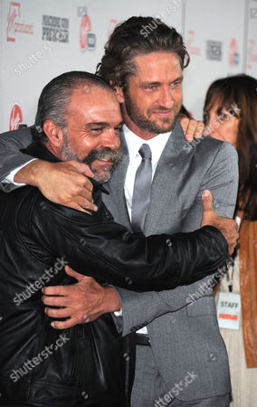 Sam Childers and Gerard Butler