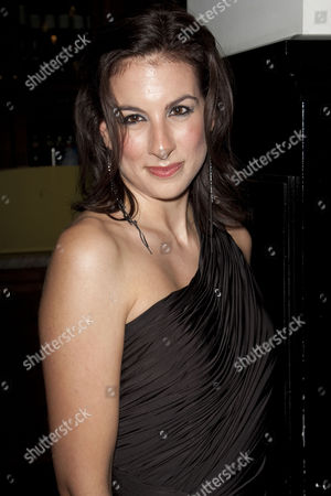 Stock Picture of Becky Barber (Producer) attends the after party at the National Gallery Cafe