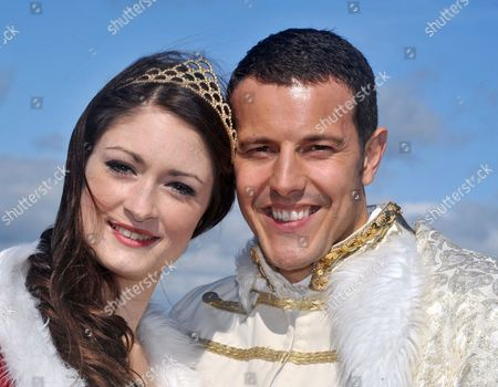 Stock Picture of Lee Latchford-Evans and Charlotte Anne Steen