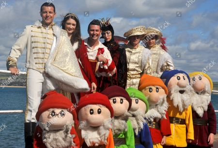 Editorial photo of 'Snow White' Pantomime photocall, Weymouth, Dorset, Britain - 21 Sep 2011