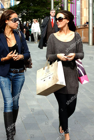 Stock Photo of Leah Hackett and Jennifer Metcalfe