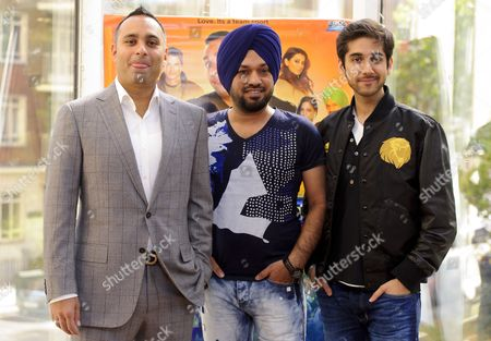 Russell Peters, Gurpreet Singh and Vinay Virmani
