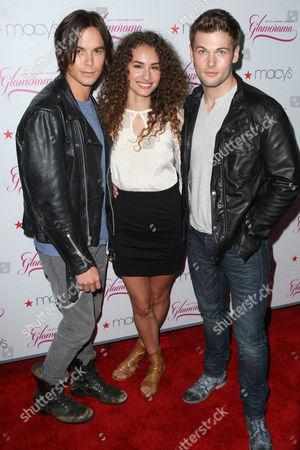 David Cade, Rachel DiPillo, Tyler Blackburn