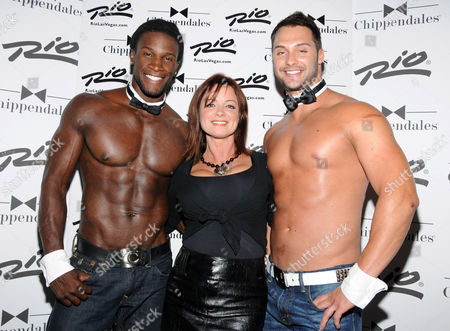 Editorial image of Celebrity guests at Chippendales, Las Vegas, America - 24 Sep 2011