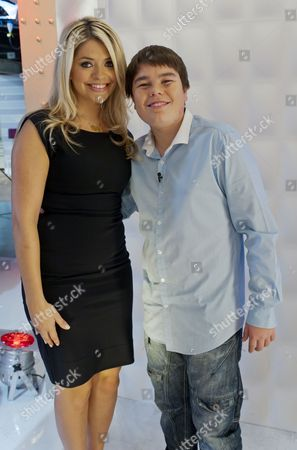 Luke Lucas and Holly Willoughby