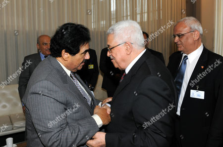 Editorial picture of President of the Palestinian National Authority Mahmoud Abbas Submits Application for UN Membership, New York, America - 23 Sep 2011