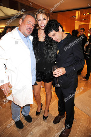 Stock Image of Hamish MacAlpine, Assia Webster and Tim Noble