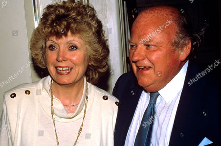 Roy Kinnear with his wife