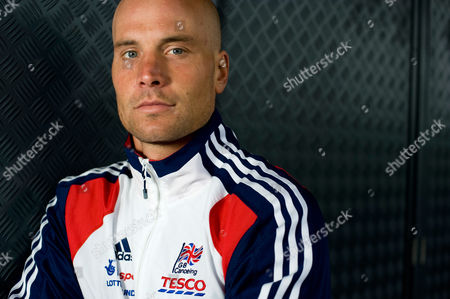 Editorial photo of GB canoeist and kayaker Rich Hounslow at Lee Valley White Water Centre in Waltham Cross, Hertfordshire, Britain - 23 Aug 2011