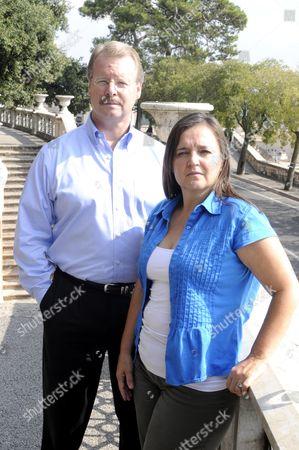 Curt Knox and Edda Mellas, the parents of Amanda Knox - 26th Sept 2011