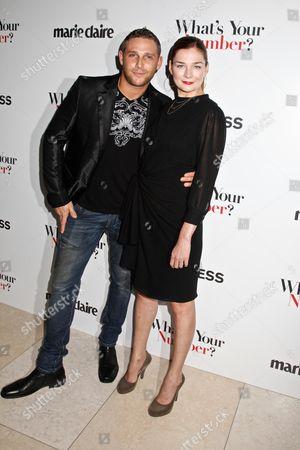 Chris Nirschel and Heather Burns