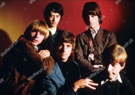 The Yardbirds -  Keith Relf, Jimmy Page, Jim McCarthy, Jeff Beck and Chris Dreja