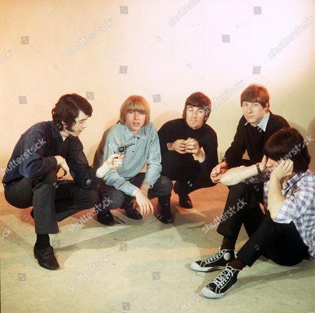 The Yardbirds -  Jimmy Page, Keith Relf, Jim McCarthy, Chris Dreja and Jeff Beck