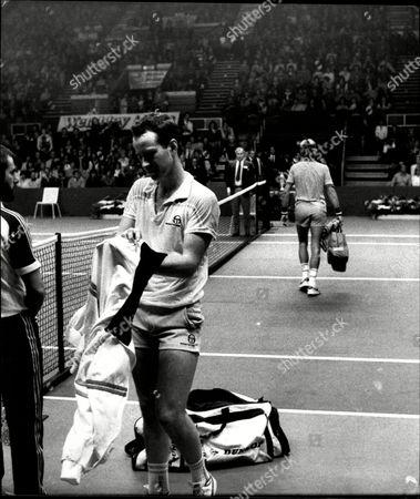 Tennis Player John Mcenroe After His Match Against Vince Van Patten At Wembley.