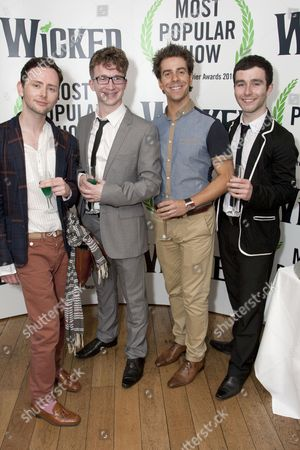James Gillan, Jeremy Legat, Alex Jessop and George Ure