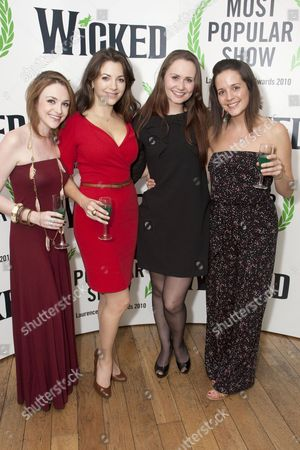 Cassandra Compton, Zoe Rainey (Nessarose), Caroline Keiff and Katie Rowley Jones