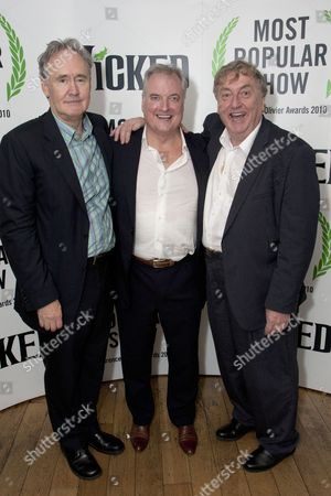 Nigel Planer, Clive Carter (The Wonderful Wizard of Oz) and Desmond Barrit