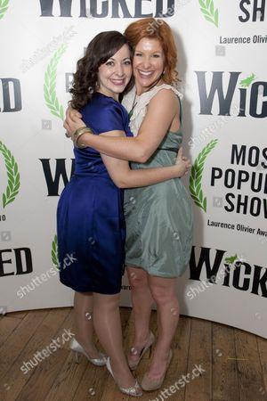 Sarah Earnshaw and Cassidy Janson