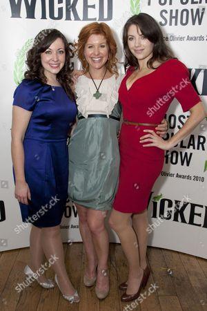Sarah Earnshaw, Cassidy Janson and Caroline Keiff
