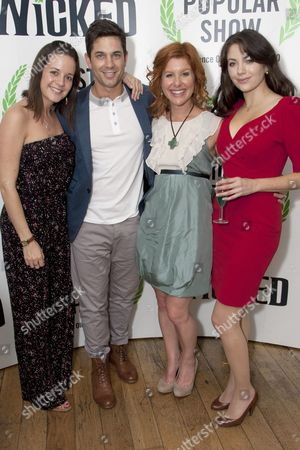 Katie Rowley Jones, Adam Garcia, Cassidy Janson and Caroline Keiff