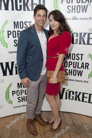 Stock Picture of Adam Garcia and Caroline Keiff