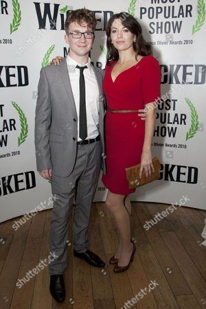 Jeremy Legat and Caroline Keiff