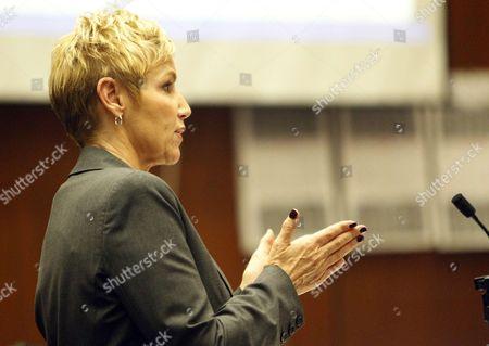 Deputy District Attorney Deborah Brazil