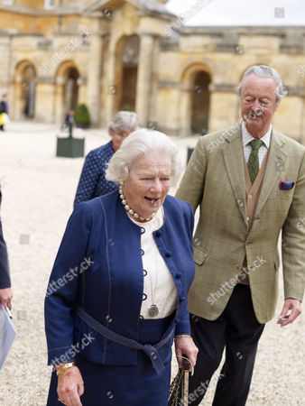 Lady Mary Soames and The Duke of Marlborough