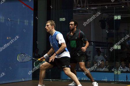Nick Matthew and Ramy Ashour
